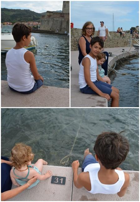 Vacances avec Mamy et Cousin Noah