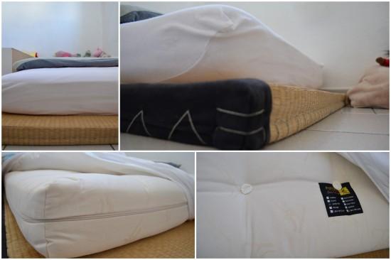 Le choix du lit au sol: futon et tatami, une bonne idée?